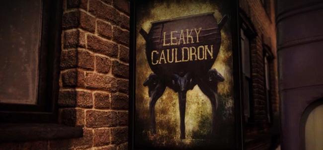 Leaky Cauldron Eat In Diagon Alley